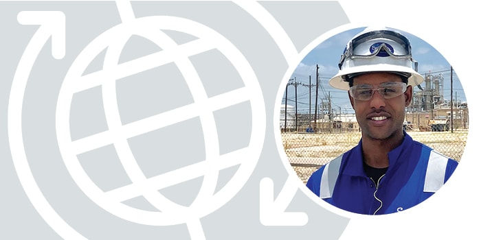 Swagelok Southeast Texas field engineer Trey Sinkfield specializes in helping chemical and refining customers identify unique fluid system solutions.