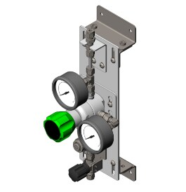 Swagelok® point-of-use (SPU) Gas Distribution Subsystem