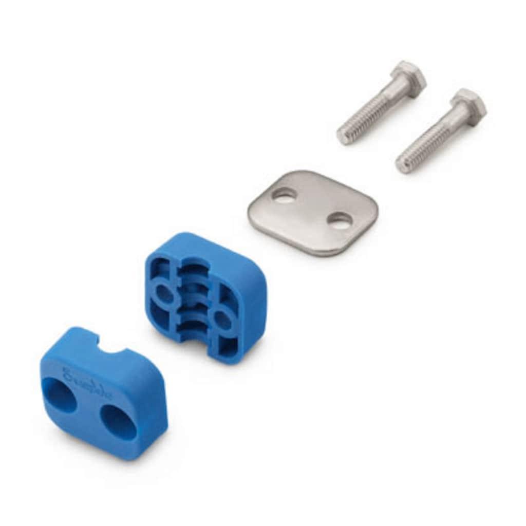 サポート・システム — ボルト付きプラスチック製クランプ・チューブサポート