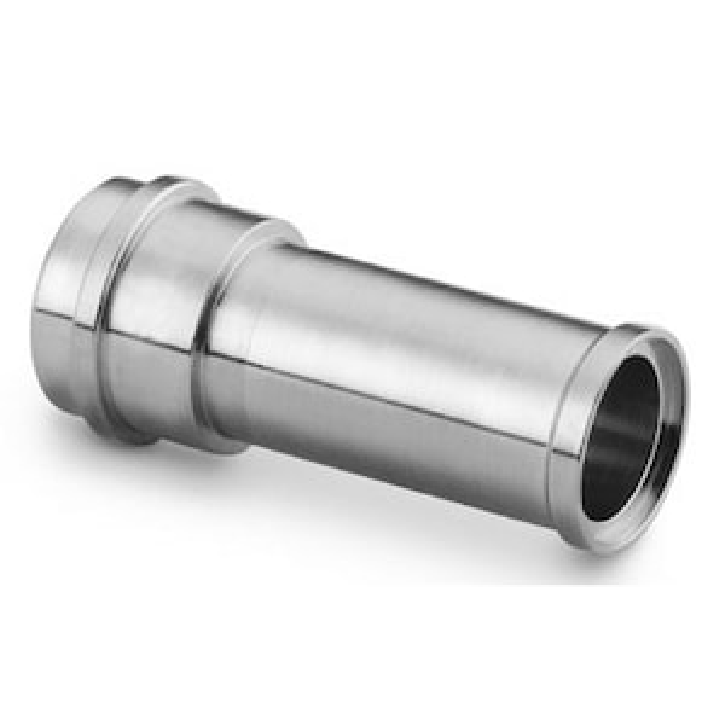 Accesorios de cierre frontal con junta plana metálica VCR® — Manguitos cortos — Manguitos cortos
