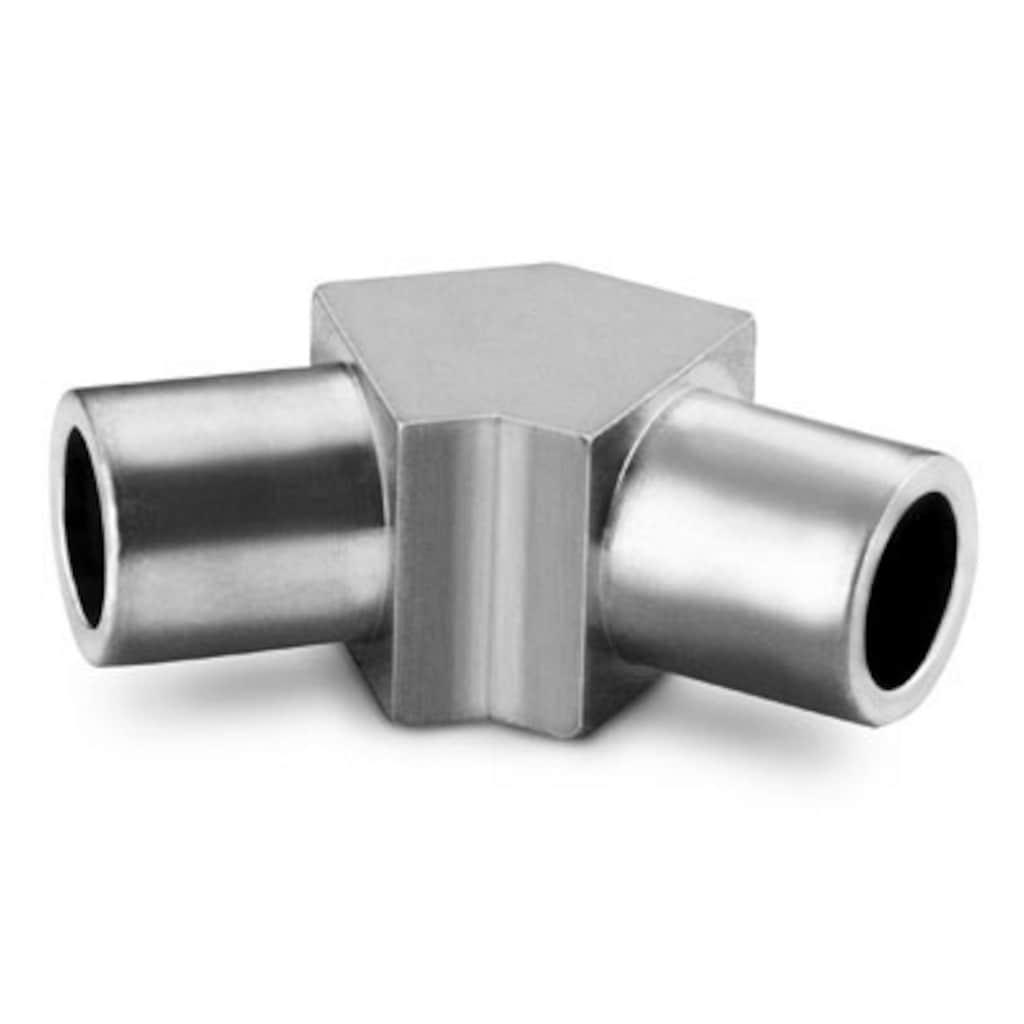 Schweißfittings — Hochreine Micro-Fit, Rohrstumpfschweißfittings — 45° Winkelverschraubungen