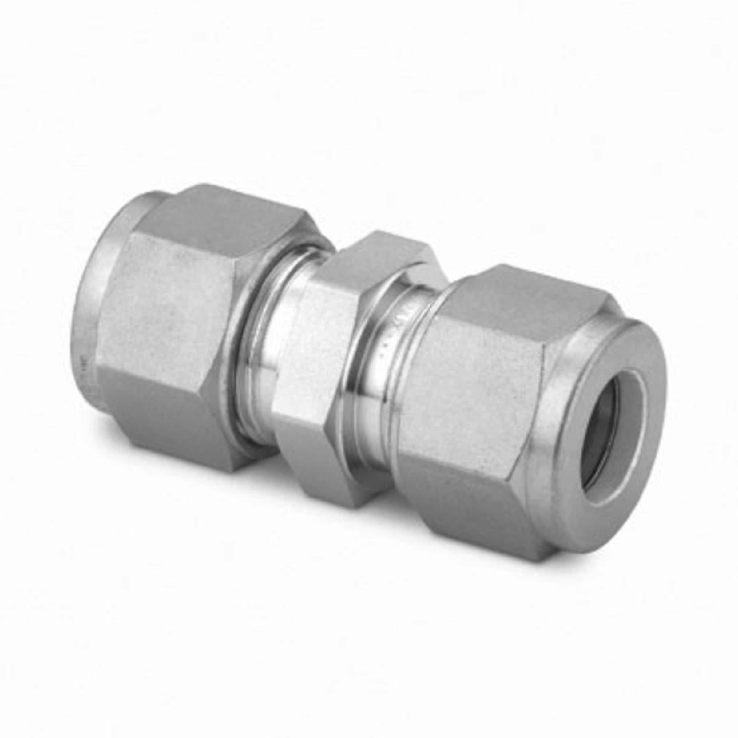 "Stainless Steel Union coupling 1//8/""npt thru 2/""npt size metal seat seal"