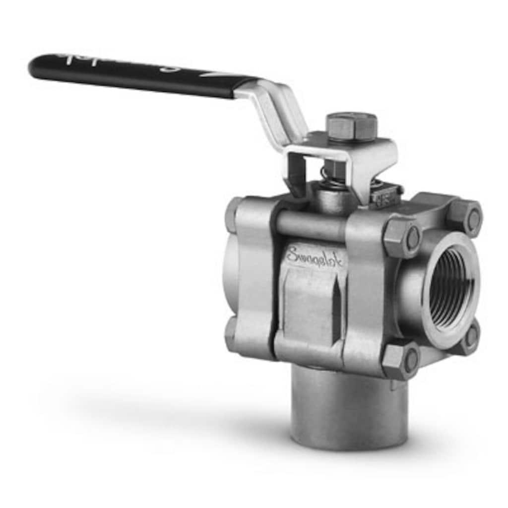 Ball and Quarter-Turn Plug Valves — Three-Piece Process/Instrumentation Ball Valves, 60 Series — 3-Way Switching