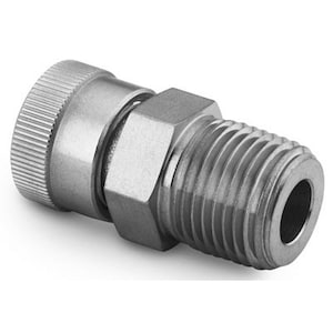 Ultra-Torr Vacuum Fittings — Male Connectors — Straights