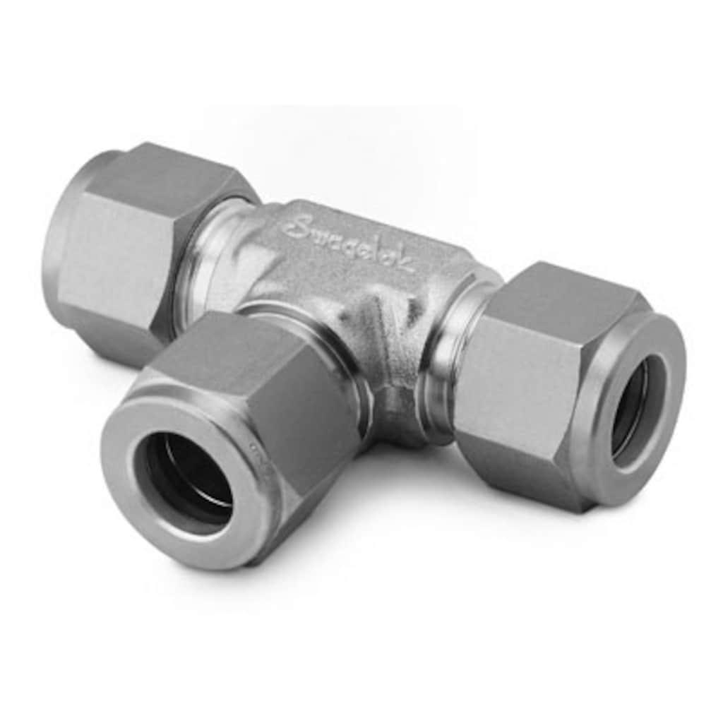 Rohrverschraubungen und Adapter — Gerade Verschraubungen — T-Stücke