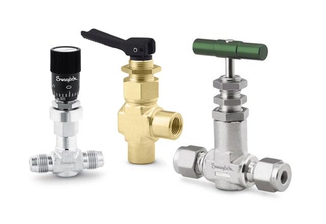Игольчатые клапаны и клапаны тонкой регулировки