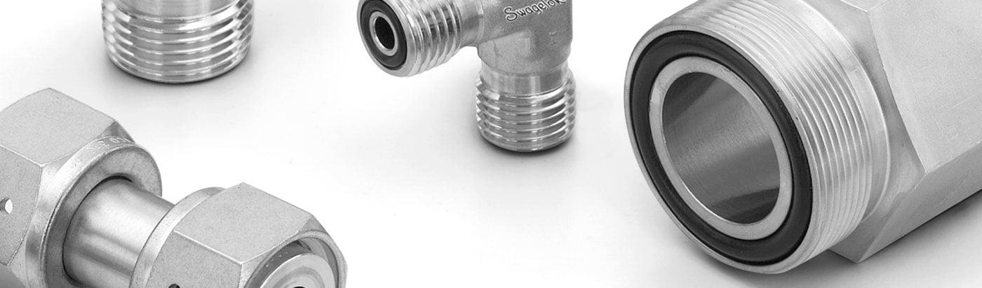 Фитинги Swagelok с торцевым кольцевым уплотнением VCO