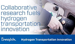 empa and Swagelok collaborate on hydrogen transportation using fk tube fittings