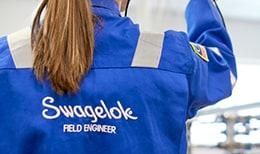 Сервисы Swagelok по выявлению утечек в системах сжатого газа