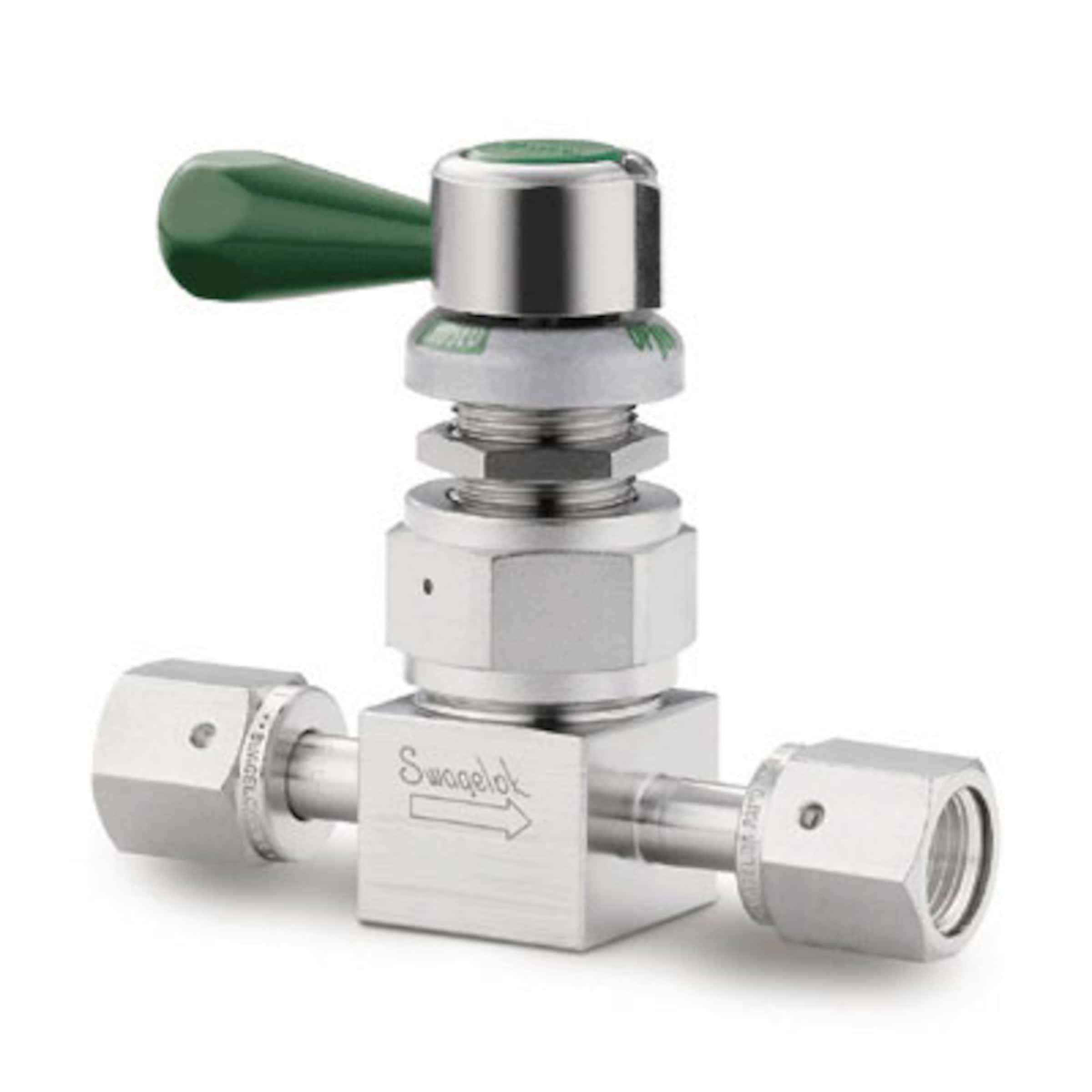 Vannes à membrane haute pression haute pureté, sériesDL et DS