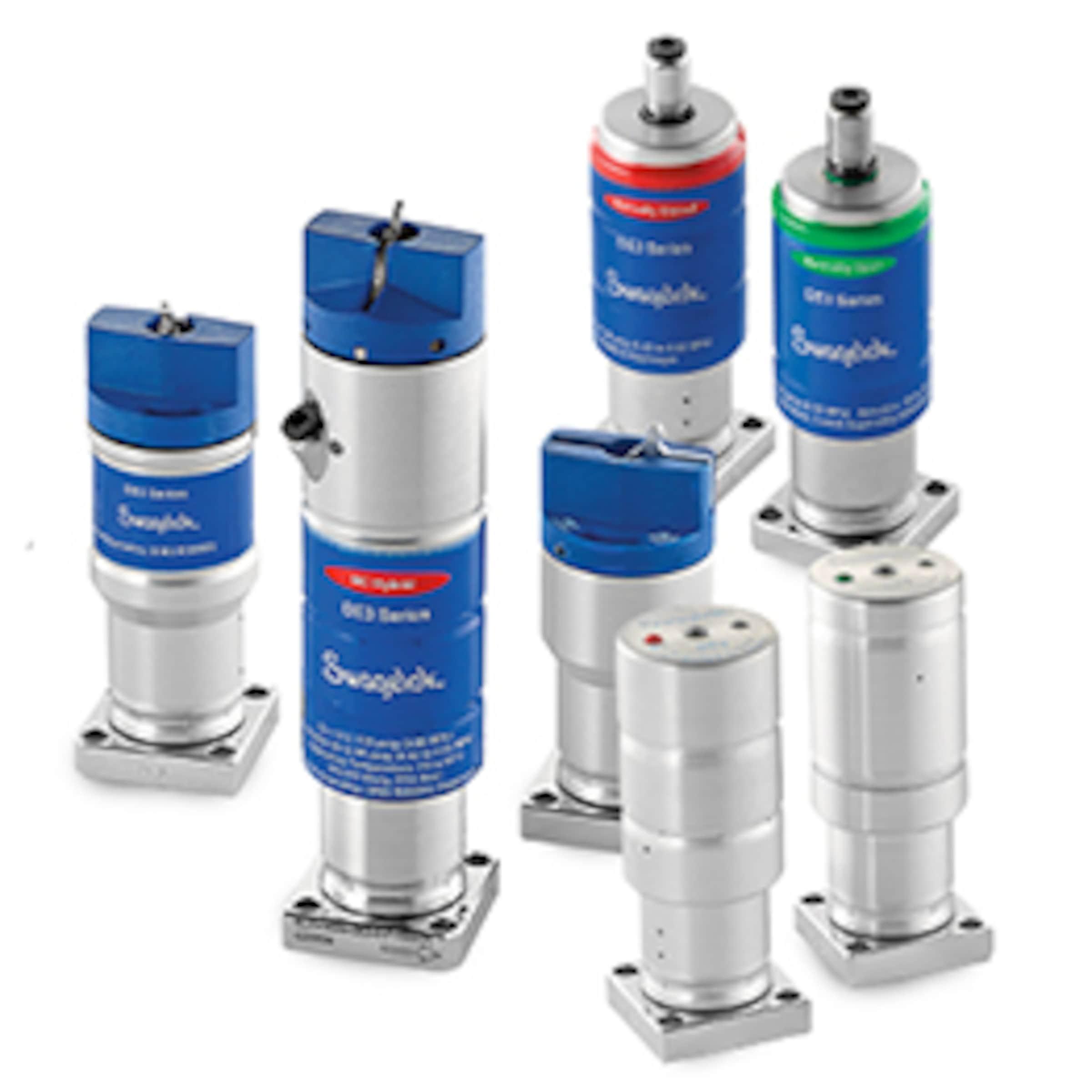 Vannes à membrane sans ressort pour systèmes à gaz modulaires, sérieDE, 1,125po