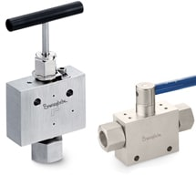 Medium and High Pressure Valves
